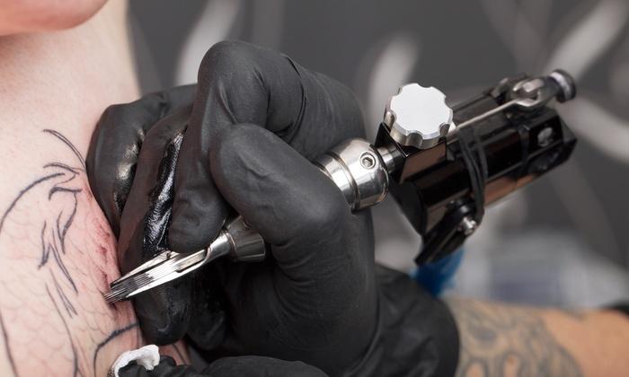Blue Blood Studios - Glenside: 60 Minutes of Tattooing from Blueblood Studios (50% Off)