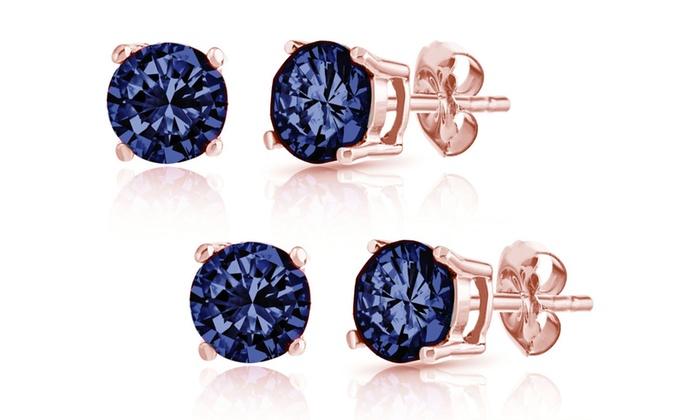 04005541167ef London Blue Topaz Stud Earrings | Groupon Goods