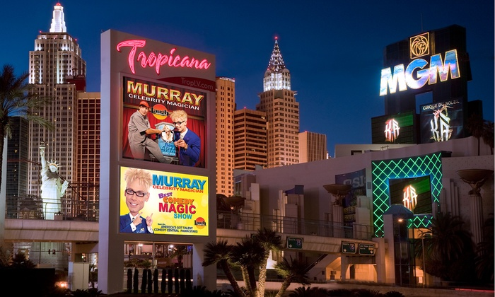 Murray, Celebrity Magician - Laugh Factory: Murray, Celebrity Magician for Two with Option for VIP Seating at Laugh Factory (Up to 69% Off)