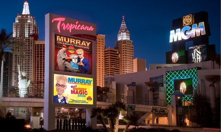 Murray, Celebrity Magician for Two with Option for VIP Seating at Laugh Factory (Up to 69% Off)