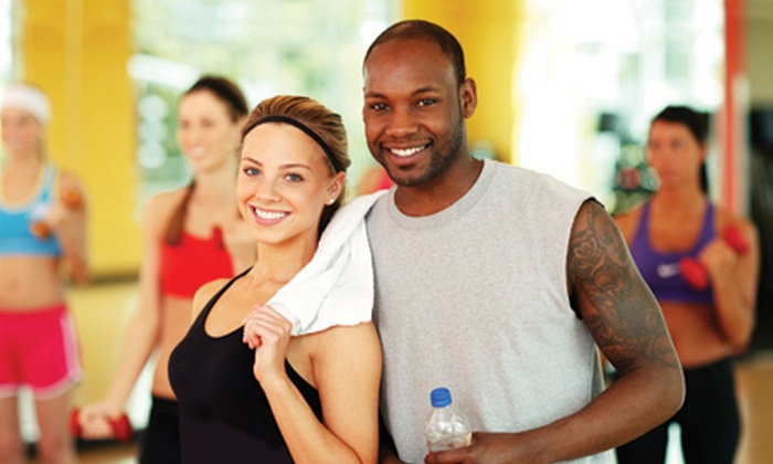 Axiom Fitness - Multiple Locations: Six- or Eight-Week Gym Membership to Axiom (Up to 61% Off)