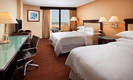 Groupon Deal: Stay with WiFi at Sheraton Dallas by the Galleria in Dallas, with Dates into August