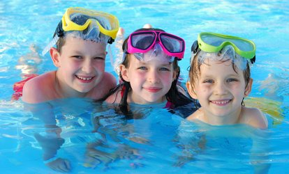 Four or Six Children's Swimming Lessons from £12 at Aweswim (Up to 78% Off)
