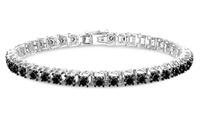 Femme Luxe 3.00 CTTW Black Diamond Bracelet