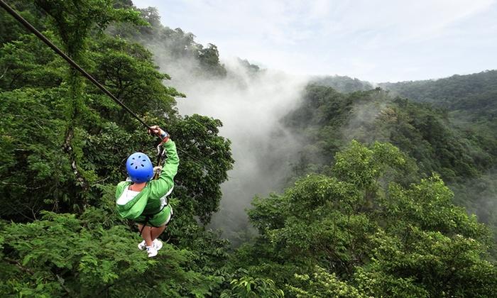 Adventure Tour from Adrenaline in Costa Rica - Alajuela, Costa Rica: 3-, 4-, or 5-Night Stay for Two in a Standard or Superior Room at Hotel Lavas del Arenal in La Fortuna, Costa Rica