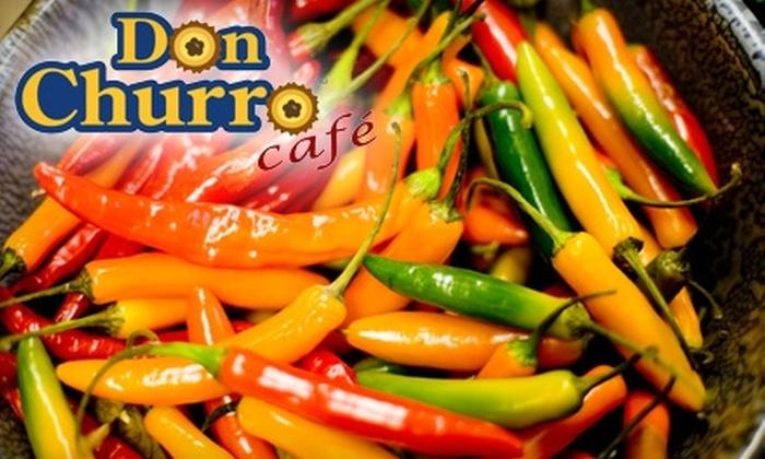 Don Churro Café - Chantilly: $12 for $25 Worth of Latin American Cuisine at Don Churro Café in Chantilly