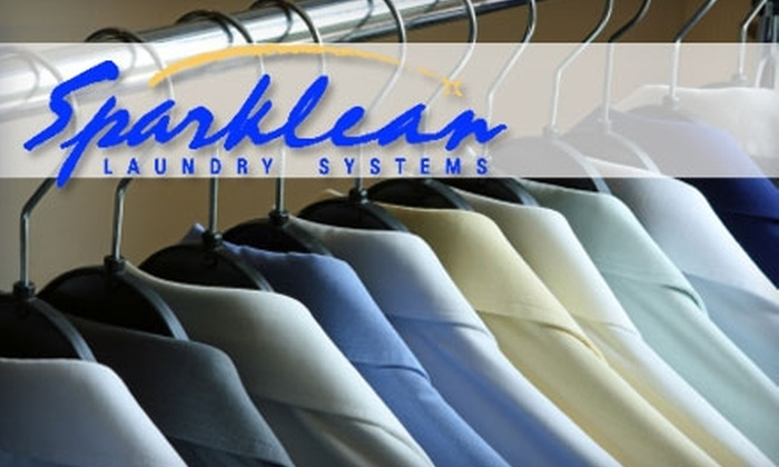 Sparklean Laundry Systems - Hillcrest: $15 for 30 Pounds of Drop-Off Laundry Service at Sparklean Laundry Systems ($37.50 Value)