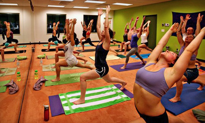 ZenSpot - Portland Hot Yoga: $39 for 10 Hot Vinyasa Yoga Classes at ZenSpot ($130 Value)