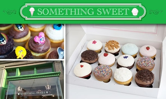 Something Sweet - Cathedral - Wesley Heights - McLean Gardens: $10 for Six Cupcakes From Something Sweet ($18 Value)