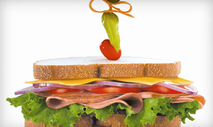 Dagwood's Sandwich Shoppes - Lexington-Fayette: Deli Meal with Sides and Drinks for Two or $6 for $12 Worth of Sandwiches, Wraps, and Salads at Dagwood's Sandwich Shoppes