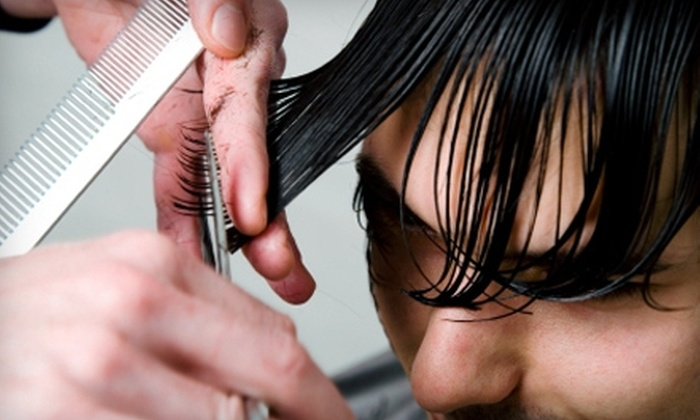 Knockouts Haircuts for Men - Multiple Locations: $12 for the Heavyweight Haircut at Knockouts Haircuts for Men ($25 Value). Choose from Five Locations.