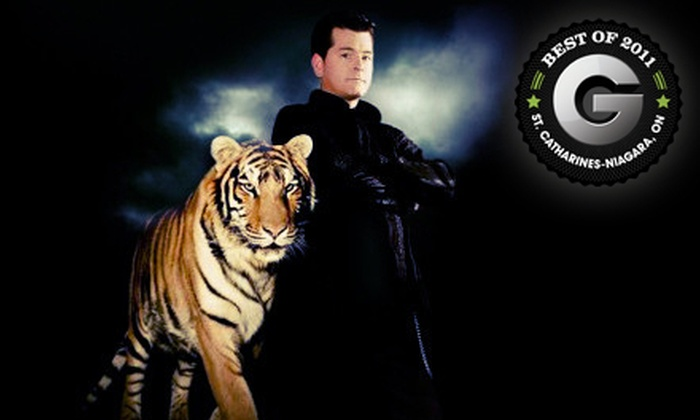 Beyond Belief Magic - Niagara Falls: Beyond Belief Magic Show at Greg Frewin Theatre with Seating in Section 1, Section 2, or Sections 3 or 4