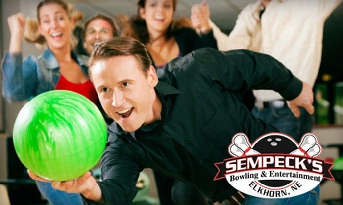 Sempeck's Bowling & Entertainment - Elkhorn: $25 for a $50 Reusable Gift Card Good Toward Bowling, Go-Karts and Laser Tag at Sempeck's Bowling & Entertainment in Elkhorn