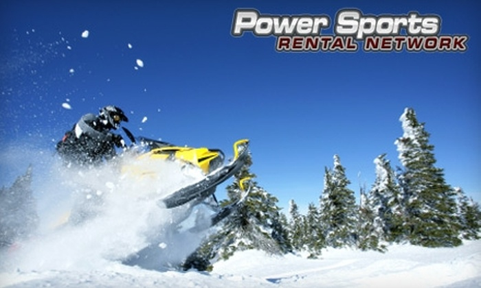 Power Sports Rental Network - Chilton: $185 for Two Snowmobile Rentals (Up to $380 Value) or $90 for One Snowmobile Rental (Up to $185 value) at Power Sports Rental Network