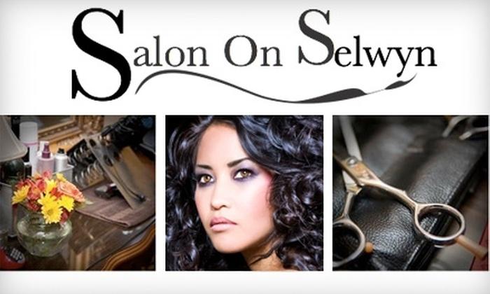 Salon on Selwyn - Barclay Downs: $30 for $85 Worth of Salon Services at Salon on Selwyn