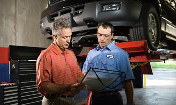 Independence Auto - Minneapolis / St Paul: Three or Five Oil Changes with One or Two Tire Rotations at Independence Auto in Maple Plain (Up to 64% Off)