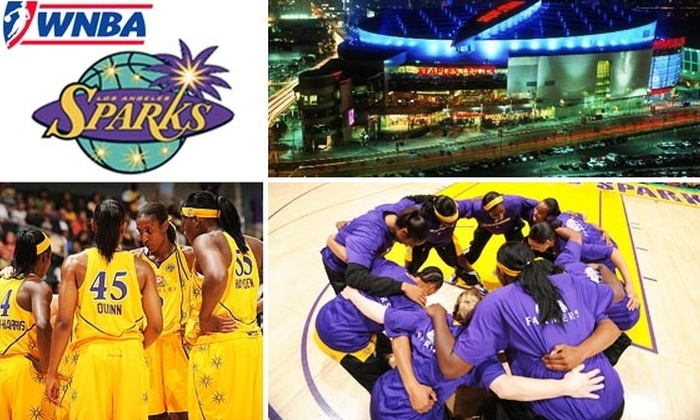 LA Sparks - Downtown Los Angeles: Tickets to LA Sparks for Lisa Leslie's Final Season. Buy $55 Tickets Here.