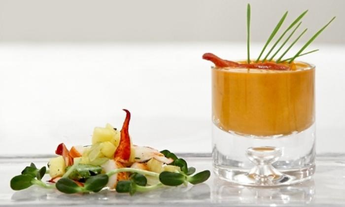 "Vermilion - Midtown Center: ""Iron Chef"" & ""Chopped"" Tasting Menu or Indian-Latin Fusion Fare at Vermilion"