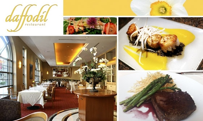 Daffodil - Downtown: $15 for $35 Worth of Classic Dishes with Organic Ingredients at Daffodil Restaurant