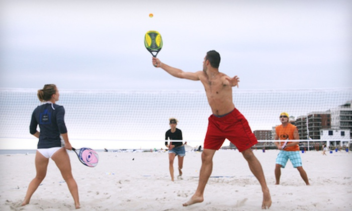 Beach Tennis USA - Multiple Locations: $29 for Four Weeks of Beach-Tennis Classes at Beach Tennis USA ($99 Value)
