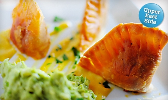 V-Note - Upper East Side: $15 for $30 Worth of Gourmet Vegan Fare at V-Note