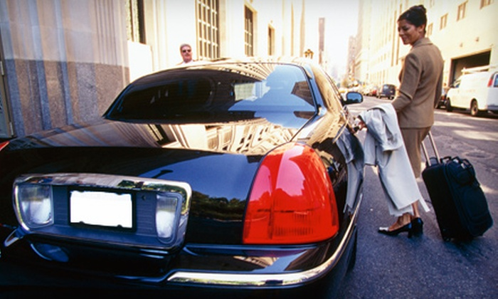 Trinity Limousine - Downtown Overland Park: One-Way or Round-Trip Airport Transfer for up to Three or Eight from Trinity Limousine (Up to 53% Off)