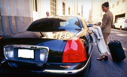 1-Way Airport Transfer for up to 3 People in an Executive Sedan ($69 value) - Trinity Limousine in