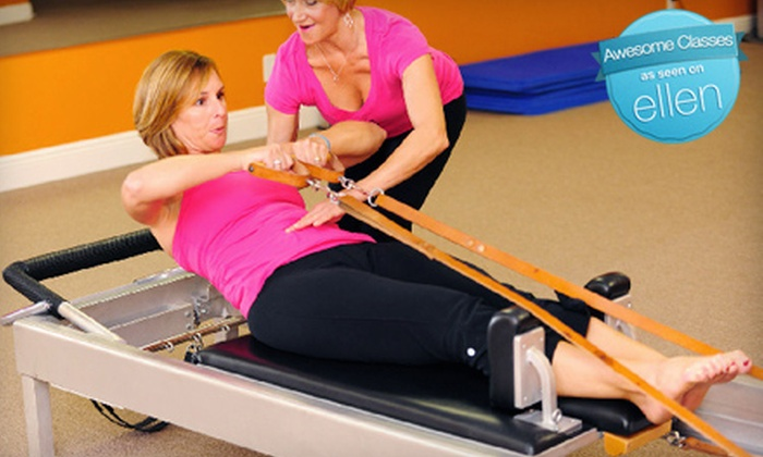 Pilates of Palm Beach - Lawson Industrial Park: Pilates Mat, Yoga, or Simply Ballet Barre Classes or Private Pilates Sessions at Pilates of Palm Beach in Boynton Beach