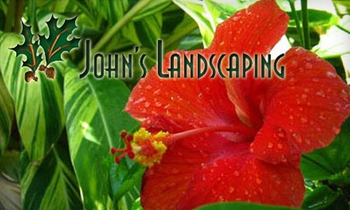 John's Landscaping - Wilshire: $249 for Personalized Lawn Design and Installation from John's Landscaping