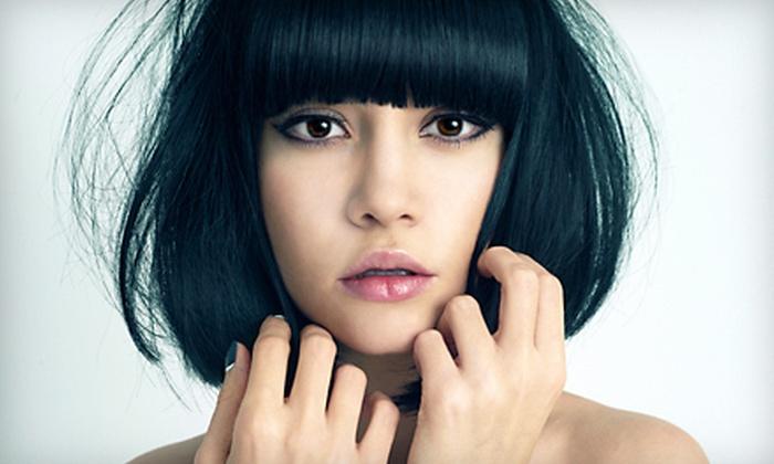 Studio D Hair Design - Irondequoit: Haircut, Highlights or Color, or Haircut with Highlights or Color at Studio D Hair Design (Up to 54% Off)