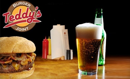 $20 Groupon to Teddy's Burger Joint - Teddy's Burger Joint in Indianapolis