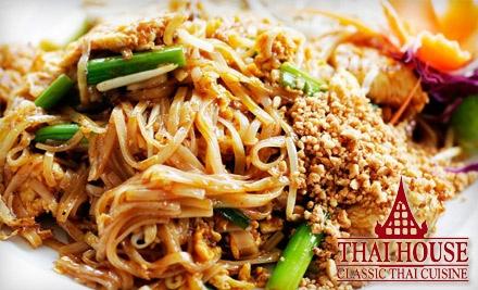 Thai House: $24 Groupon at 8706 Pineville-Matthews Rd. in Charlotte - Thai House in Charlotte