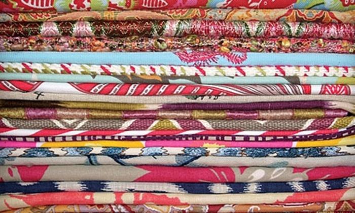Zimman's - Lynn: $25 for $50 Worth of Designer Fabrics at Zimman's