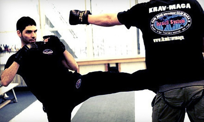International Krav Maga - Krav Maga Experts: 5, 10, or Full Month of Self-Defense Classes at International Krav Maga New York (Up to 86% Off)