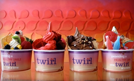 $10 Groupon to Twirl Frozen Yogurt - Twirl Frozen Yogurt in Los Angeles