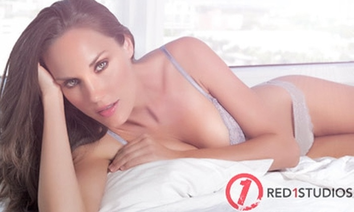 Red1 Studios - Wynwood: $89 for a Boudoir Photography Session at Red1 Studios ($450 Value)
