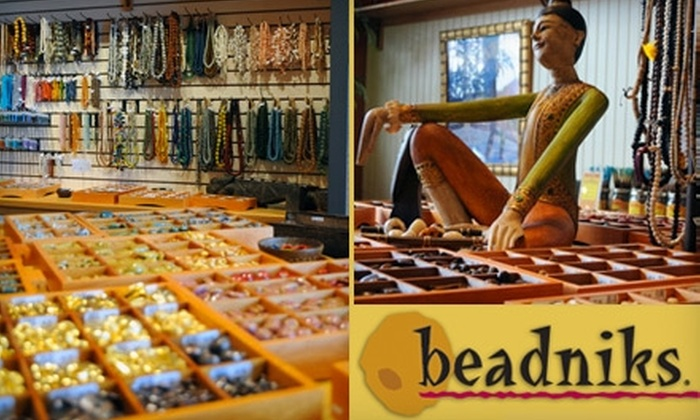 Beadniks - Denver: Jewelry, Beads & Beading Classes at Beadniks in Highlands Ranch. Choose from Two Options.