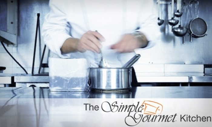 Simple Gourmet - Los Angeles: $250 for a Two-Hour Private Cooking Class for up to Six People in a Professional Kitchen with Simple Gourmet ($540 Value)