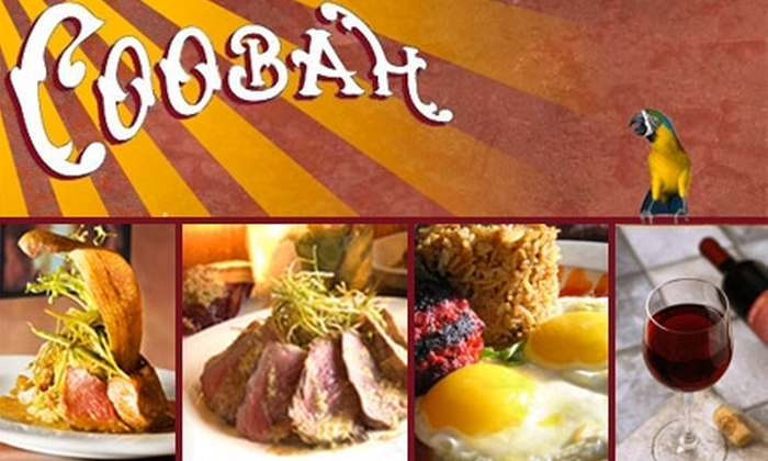 Coobah - Lakeview: $25 for $50 Worth of Latin Fusion Cuisine and Drinks at Coobah