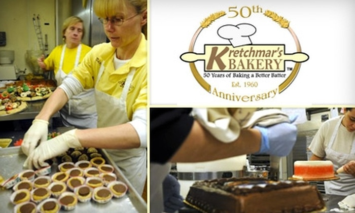 Kretchmar's Bakery - Pittsburgh: $10 for $20 Worth of Bakery Goods at Kretchmar's Bakery