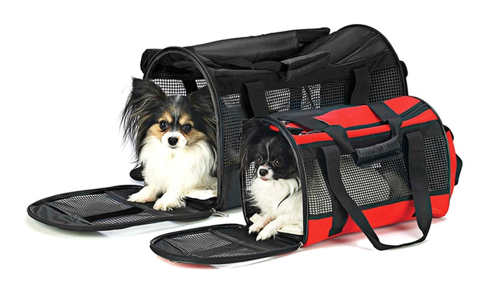 Spot Small Pet Carryall Bag in Red: Spot Small Pet Carryall Bag in Red. Free Shipping and Returns.