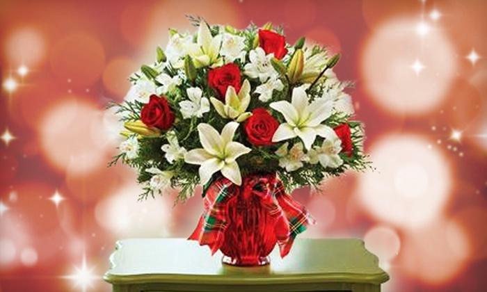 PG Flowers - Carpenter Park: Floral Arrangements at PG Flowers (Half Off). Two Options Available.
