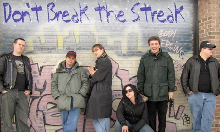 """Don't Break the Streak"" - Downtown Harrisburg: $10 for Four Tickets to a Don't Break the Streak Comedy Show at Gamut Theatre in Harrisburg ($40 Value)"