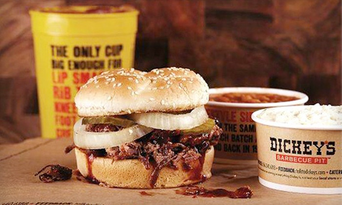 Dickey's Barbecue Pit - South Scottsdale: Barbecue at Dickey's Barbecue Pit (Half Off). Two Options Available.