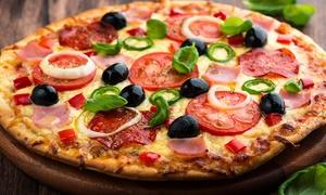 Pizzeria Niki: Aromatyczna pizza o średnicy 32 cm od 14,99 zł w Pizzerii Niki (do -47%)