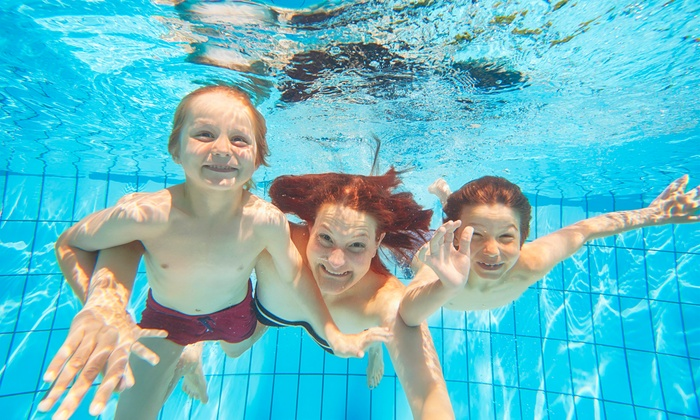 Woodburn Aquatic Center - Woodburn: Three-Month Family, Adult, or Senior Swimming and Fitness Membership at Woodburn Aquatic Center (Up to 51% Off)
