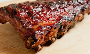 Phoebe's Bar-B-Q: Pick-Up Catering Packages from Phoebe's Bar-B-Q (Up to 56% Off). Two Options Available.