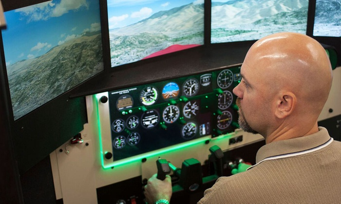 Florida Aviation Academy - Florida Aviation Academy: One-Hour Flight Simulator for One or Two at Florida Aviation Academy (Up to 51% Off)