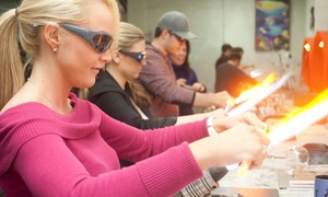Zen Glass Studios: Wineglass Making for One or Two, or Private Project for Up to Four at Zen Glass Studios (Up to 45% Off)