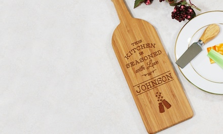 Custom Wine-Shaped Cutting Boards